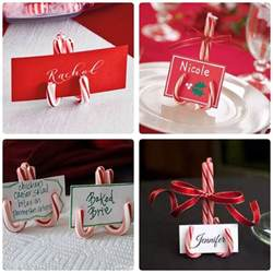 Easy DIY Christmas Table Decoration