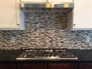 How to install kitchen backsplash that comes with cabinets for Installing backsplash