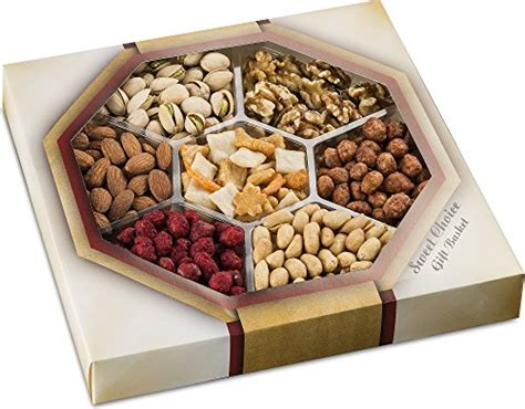 Gourmet Mixed Nuts Snack Tray (7-assorted Flavors) Roasted