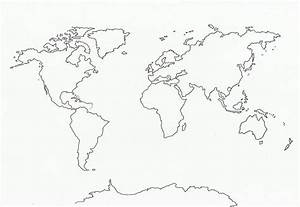 World Map Outline Tattoo - scrapsofme.me