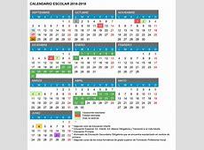 Calendario Escolar 201819 Castilla y León Acueducto2