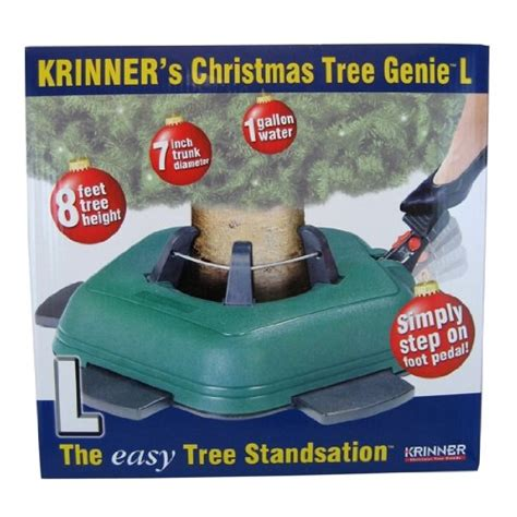 krinner christmas tree genie l tree stand gosale price