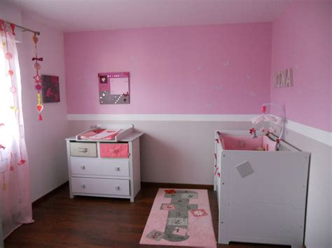 chambre fille photo déco chambre bébé fille photo