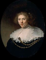 Painting Woman Rembrandt Portraits