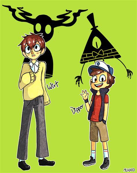 Wirt and Dipper by munno05 on DeviantArt Desenhos Todos