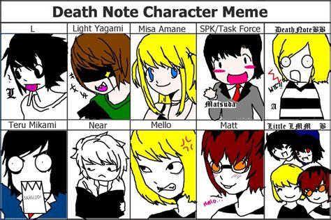 Meme L - another death note meme by deathnotebb on deviantart