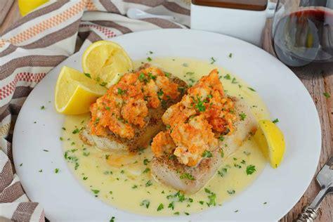 lobster stuffed baked   gourmet stuffed fish recipe
