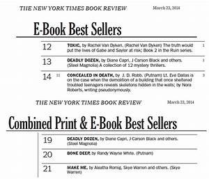 Deadly Dozen Hits The New York Times Bestseller List ...