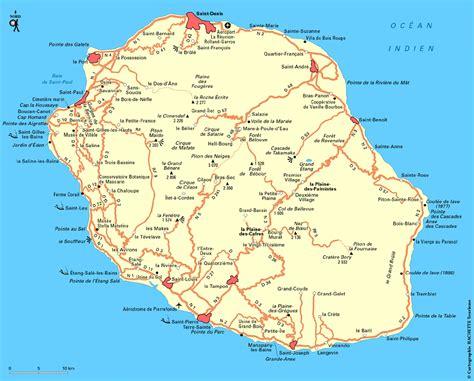 La Réunion Carte Géographique Monde by Carte R 233 Union Fr Carte De R 233 Union Fr