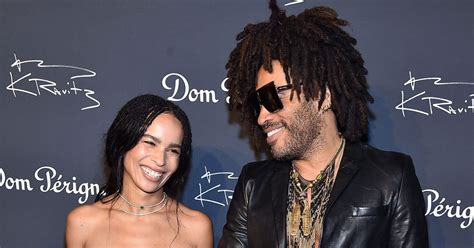 Lenny Kravitz Talks Emotions Walking Zoe Down