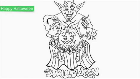 top   printable halloween coloring pages youtube