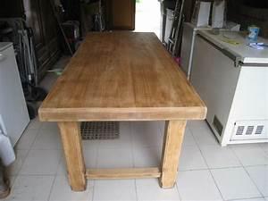 comment repeindre une table en bois survlcom With repeindre une table en bois