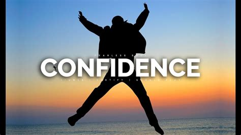 How To Develop Self-confidence (motivational