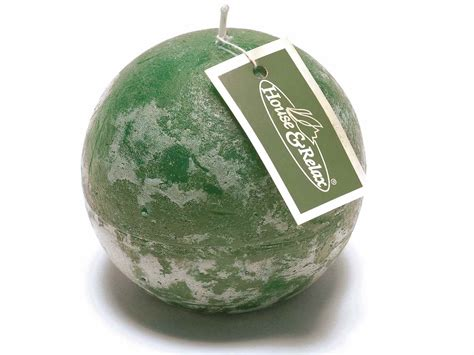 Candele Verde by Candela A Sfera Verde Inglese 14 10 88 From Italy