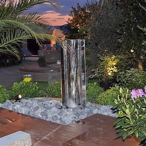 Fontaine A Eau Exterieur : fontaine d eau interieur 3 murs deau et fontaines de ~ Dailycaller-alerts.com Idées de Décoration