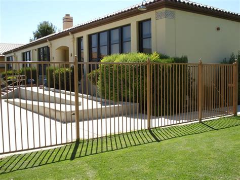 elegant home iron fence design idea  ideas