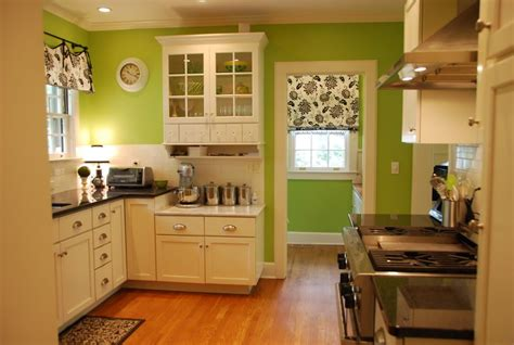 show me your white kitchen light green walls green