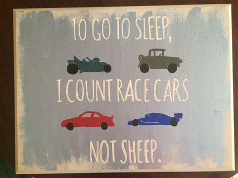 sleep  count race cars  sheep baby boy car