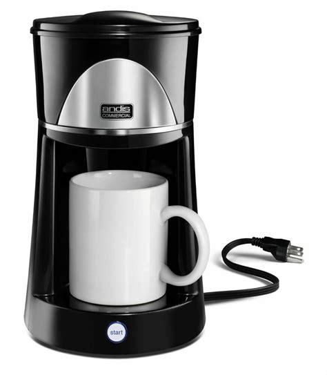 The v60 is compact, affordable, and brews an unbeatably bold cup of coffee. best for office: Andis 60980 One Cup Coffee Maker | eBay