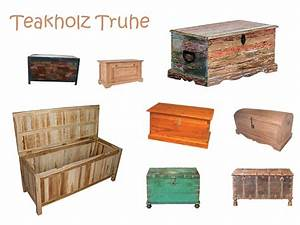 Truhe Aus Holz : wundersch ne teak truhe aus teakholz ~ Whattoseeinmadrid.com Haus und Dekorationen