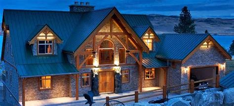 cedar homes award winning custom homes post  beam cottage plans