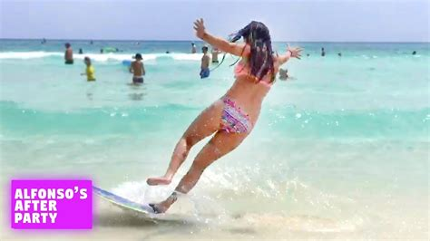 beach funny fails funniest wipeouts afv