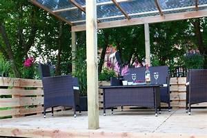 Terrassenmöbel Aus Paletten : terrasse aus paletten selber bauen europaletten diy ~ Whattoseeinmadrid.com Haus und Dekorationen