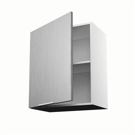meuble cuisine 70 cm largeur meuble de cuisine haut décor aluminium 1 porte stil h 70 x