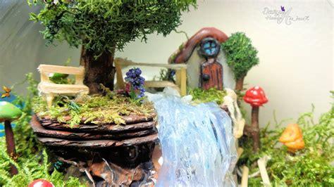 Minijardines  Jardín Dentro De Una Pecera  Fairy Garden