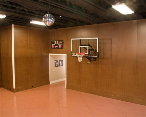 private indoor basketball courts  houzz