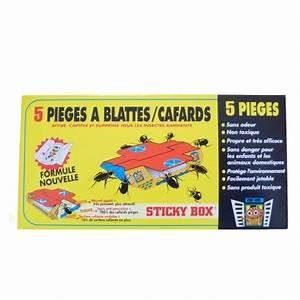 Piege A Cafard : 5 pi ges anti cafards sticky box hygi ne 3d ~ Melissatoandfro.com Idées de Décoration