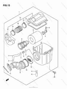 Suzuki Atv 2006 Oem Parts Diagram For Air Cleaner
