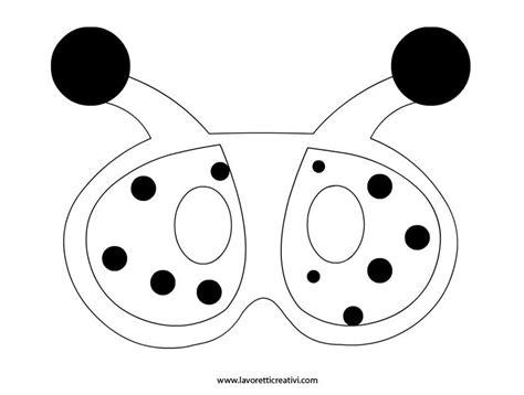 sagoma maschera coccinella carnival costumes masks