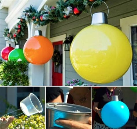 large christmas ball decorations