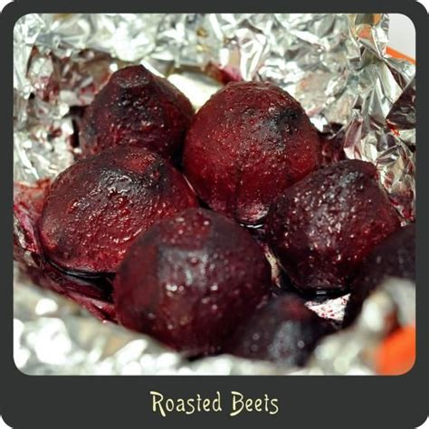 how to roast beets roasted beets vegetable dishes pinterest