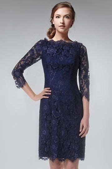 robe pour mariage bleu marine dentelle robe de soir 233 e courte dentelle bleu marine 224 manche mi