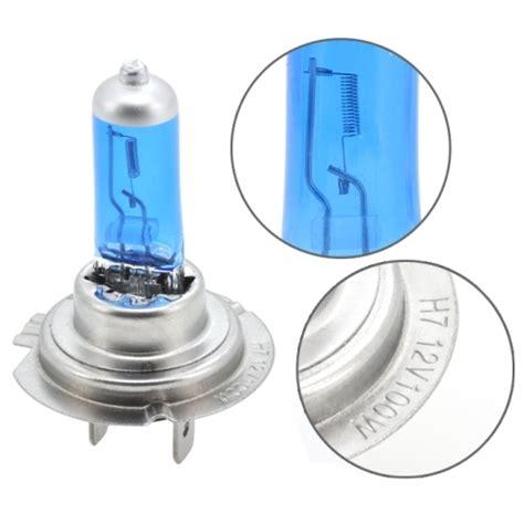 h7 halogen car headlight 1200 lumens white light 12v