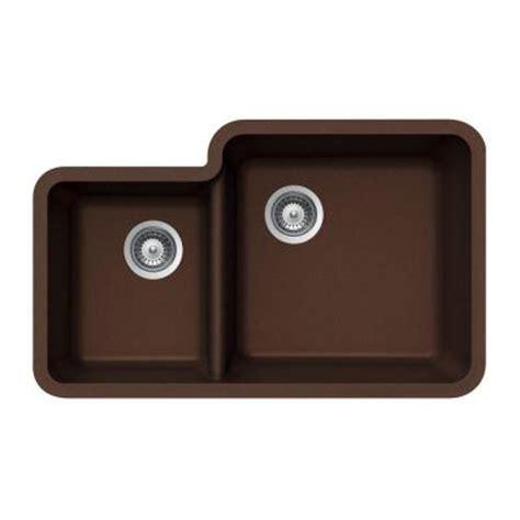 Houzer Sinks Home Depot by Houzer Quartztone Undermount Composite Granite 33 In
