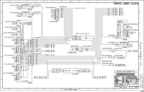 1999 Freightliner Fuse Box Diagram by Freightliner Fld120 Wiring Diagrams Wiring Diagram And