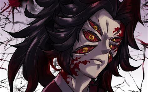 wallpapers kokushibou swordsman demon hunter