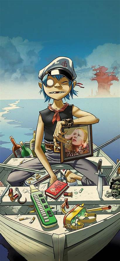 Gorillaz Iphone Boat Wallpapers Phone Elephant Cage