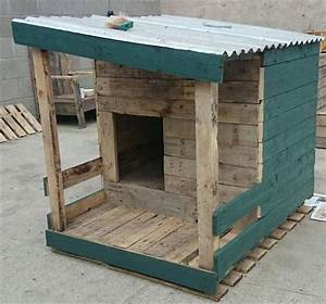 DIY Dog House Made From Pallets Pallets Designs