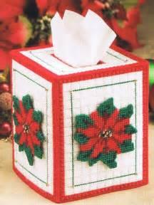 agate coasters poinsettia tissue box cover plastic canvas pattern