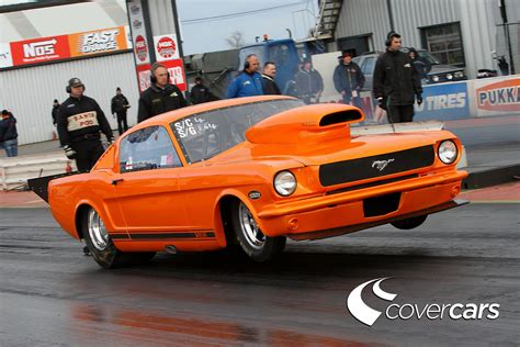 ford mustang drag car drag racing hd wallpaper and background image