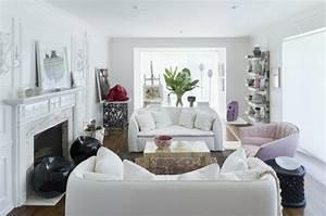 Le Salon Blanc Ides De Dco Minimaliste En Blanc
