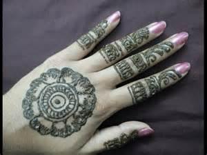 Back Hand Mehndi Designs