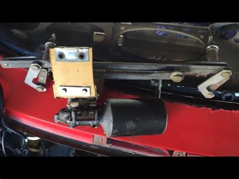 repair windshield wipe control 2002 porsche boxster windshield wipe control porsche 911 windshield wiper motor assembly youtube