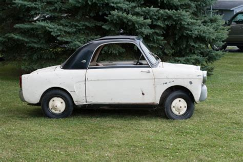Who Make Fiat by 1959 Fiat Bianchina Running Driving Project For Sale