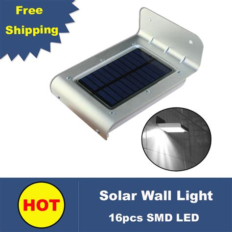 solar led outdoor wall light with sensor solar switch