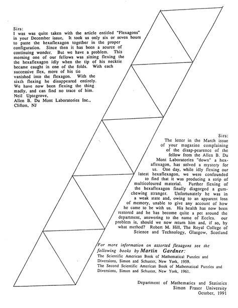 Hexaflexagon Template Hexaflexagon Directions And Templates Mrcoreymath